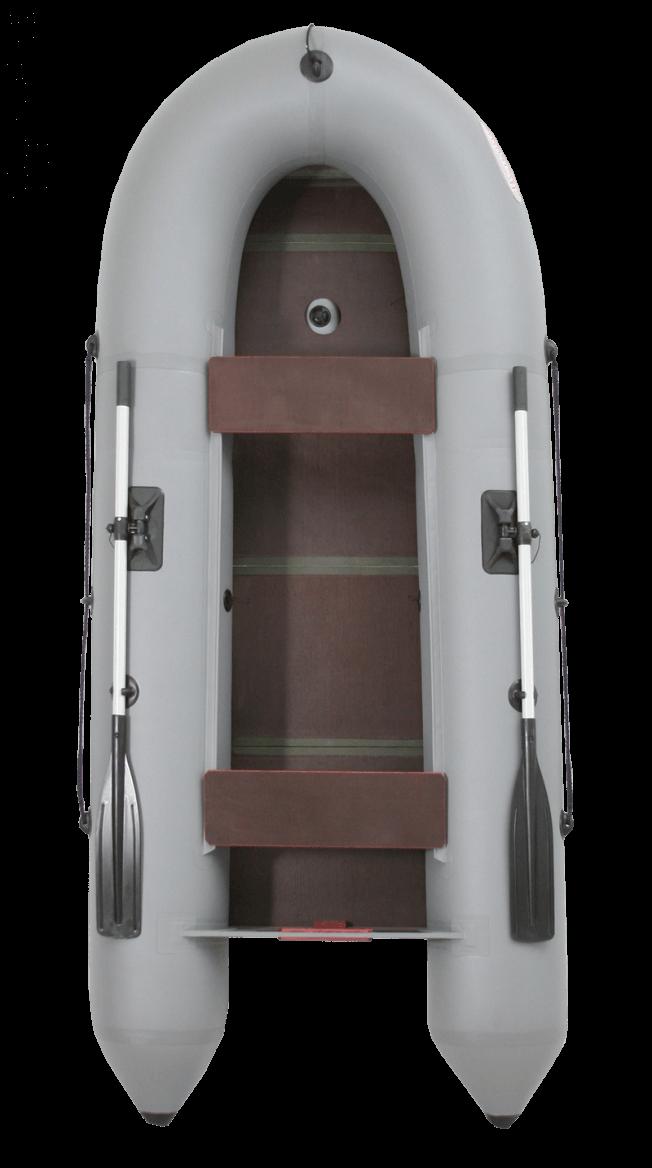 Вельбот УДАЧА 3200 слань+киль(лодка ПВХ)