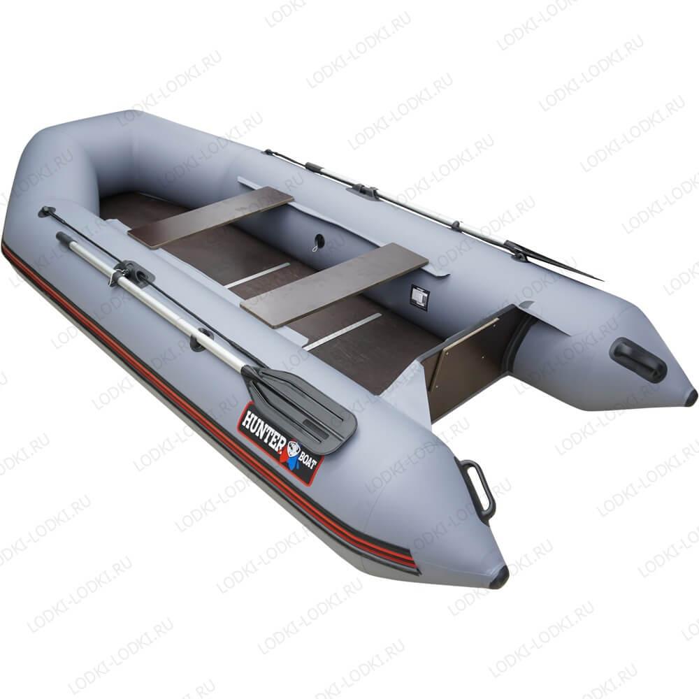 лодки пвх хантер 290 под мотор видео