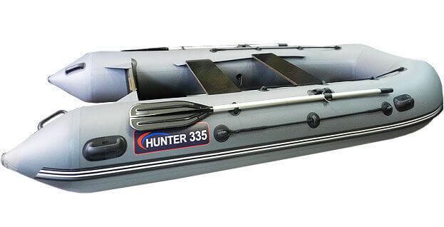 Хантер 335 слань+киль (лодка пвх)